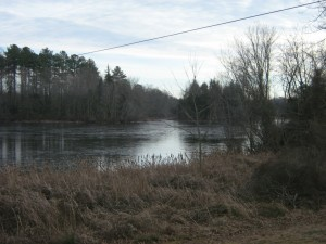 Abbott's Pond iced over
