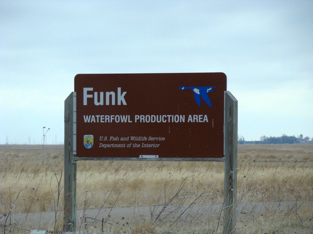 Funk Waterfowl Production Area is one of the biggest wetlands remaining in the Rainwater Basin.