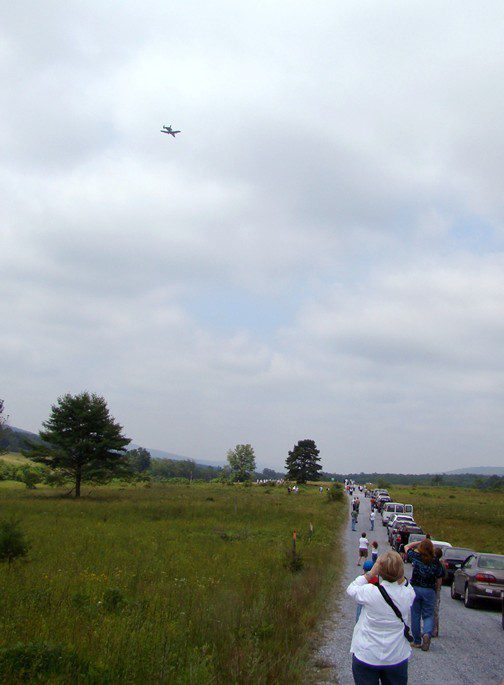 The A-10 jets could have taken us all out in one pass!  Thank god we were on their side.
