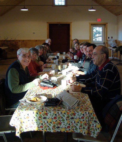 Program participants enjoyed a wonderful fruit and quiche breakfast, made from Coverdale Farm chicken eggs.