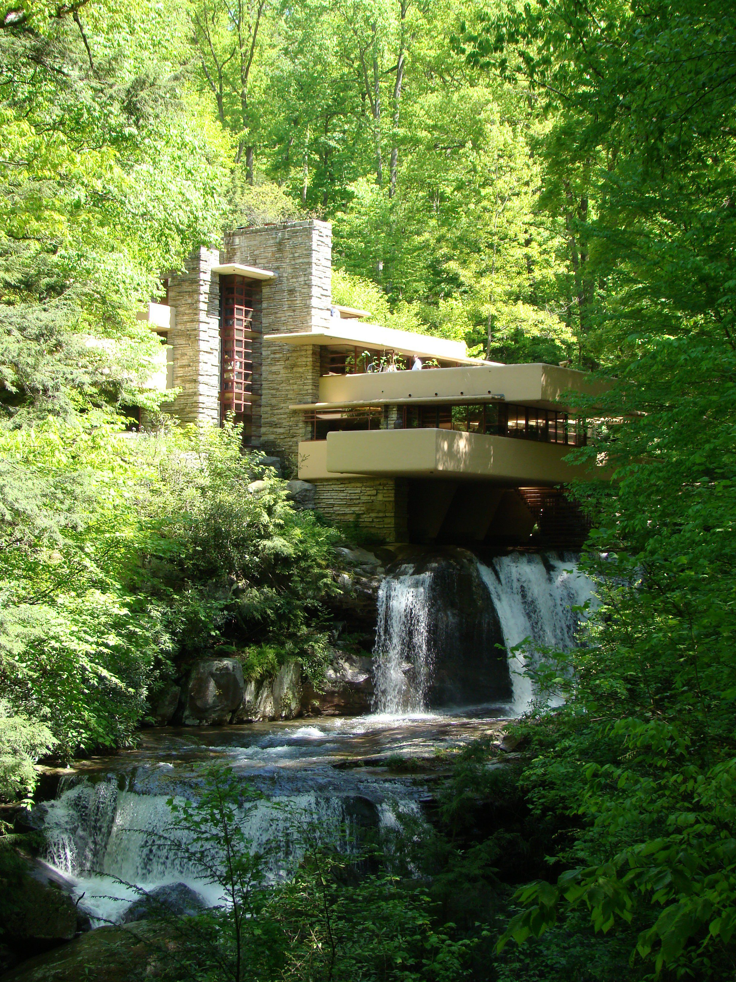 Fallingwater the nature of delaware for Architecture et nature